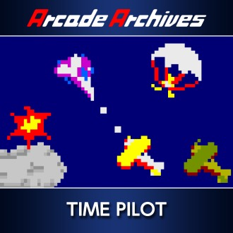 Arcade Archives TIME PILOT PS4