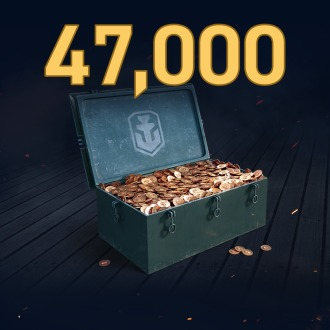 World of Warships: Legends - 47,000 Doubloons PS4