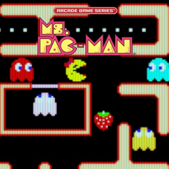 ARCADE GAME SERIES: Ms. PAC-MAN PS4