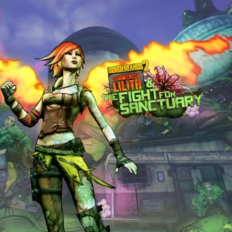 Borderlands 2: Commander Lilith & the Fight for Sanctuary PS4