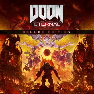 DOOM Eternal Deluxe Edition PS4