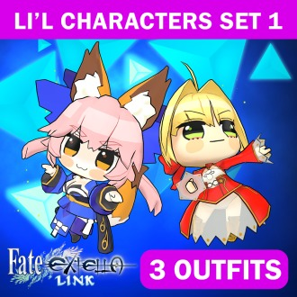 Fate/EXTELLA LINK — Li'l Characters Set 1 PS Vita