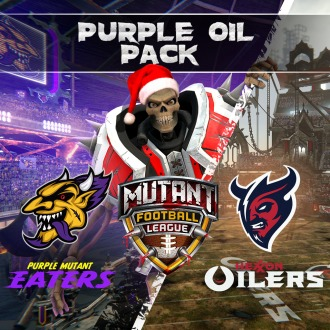 Mutant Football League - Purple Oil Holiday Pack PS4