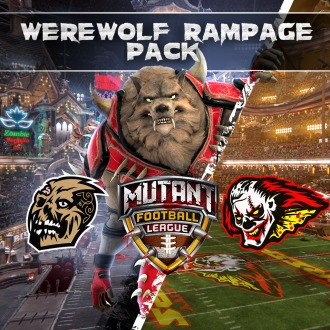 Mutant Football League: Werewolf Rampage Pack PS4