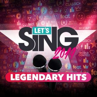 Let's Sing 2019 - Legendary Hits Song Pack PS4