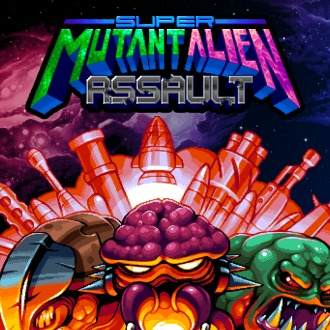Super Mutant Alien Assault PS Vita