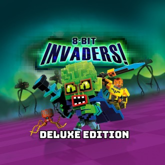 8-Bit Invaders! - Deluxe Edition PS4