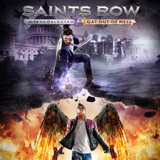 Saints Row Re-Elected & Gat Out of Hell PS4