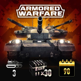 Armored Warfare – Starter Pack – Ultimate PS4