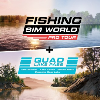 Fishing Sim World + Quad Lake Pass PS4