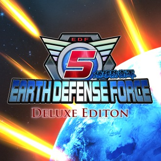 EARTH DEFENSE FORCE 5 Deluxe Edition PS4