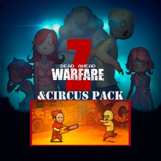 DEAD AHEAD:ZOMBIE WARFARE&Circus Bundle PS Vita