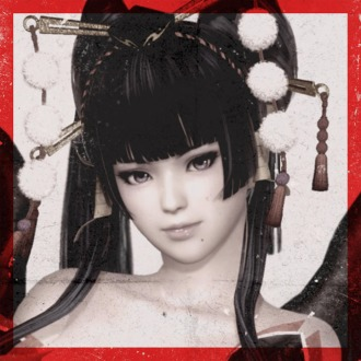 DOA6 Nyotengu Fighter Card Avatar PS4