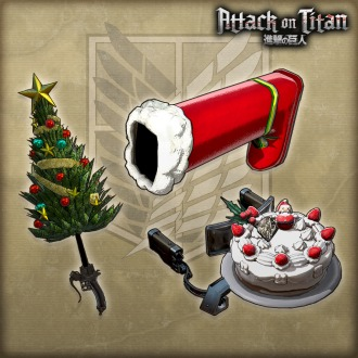 Attack on Titan - Weapon 'Christmas' PS3