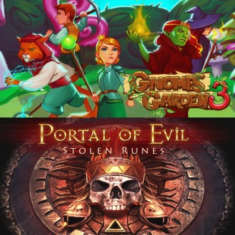 Gnomes Garden 3: The thief of castles & Portal of Evil PS4