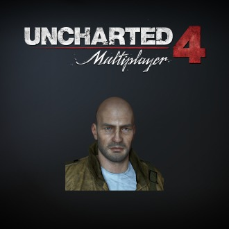 UNCHARTED 4: A Thief's End Charlie Cutter Hero Avatar PS4