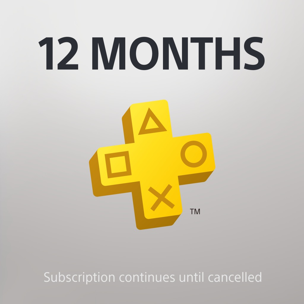 PS Plus: 12 Month Membership
