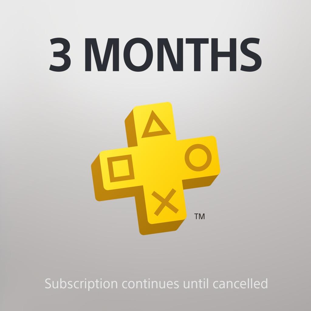 PS Plus: 3 Month Membership