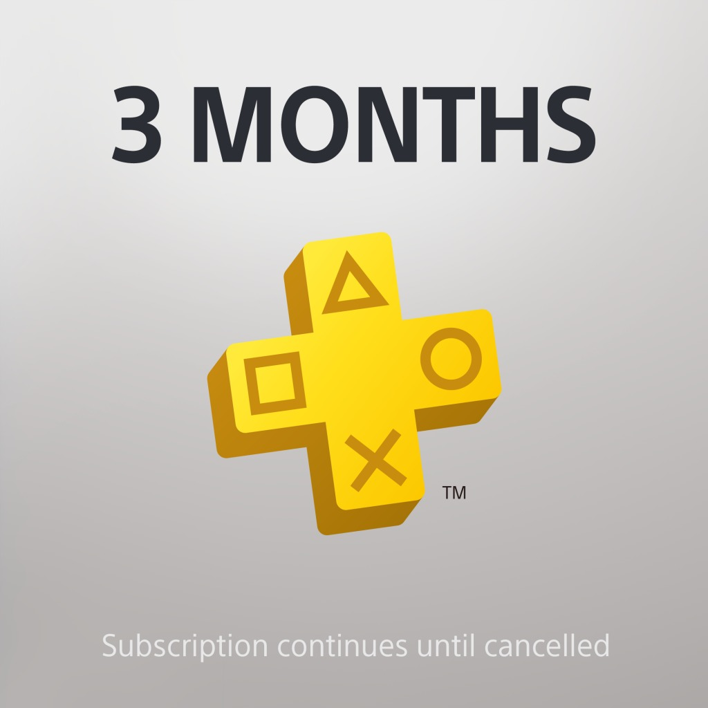 PS Plus: 3 Month Membership