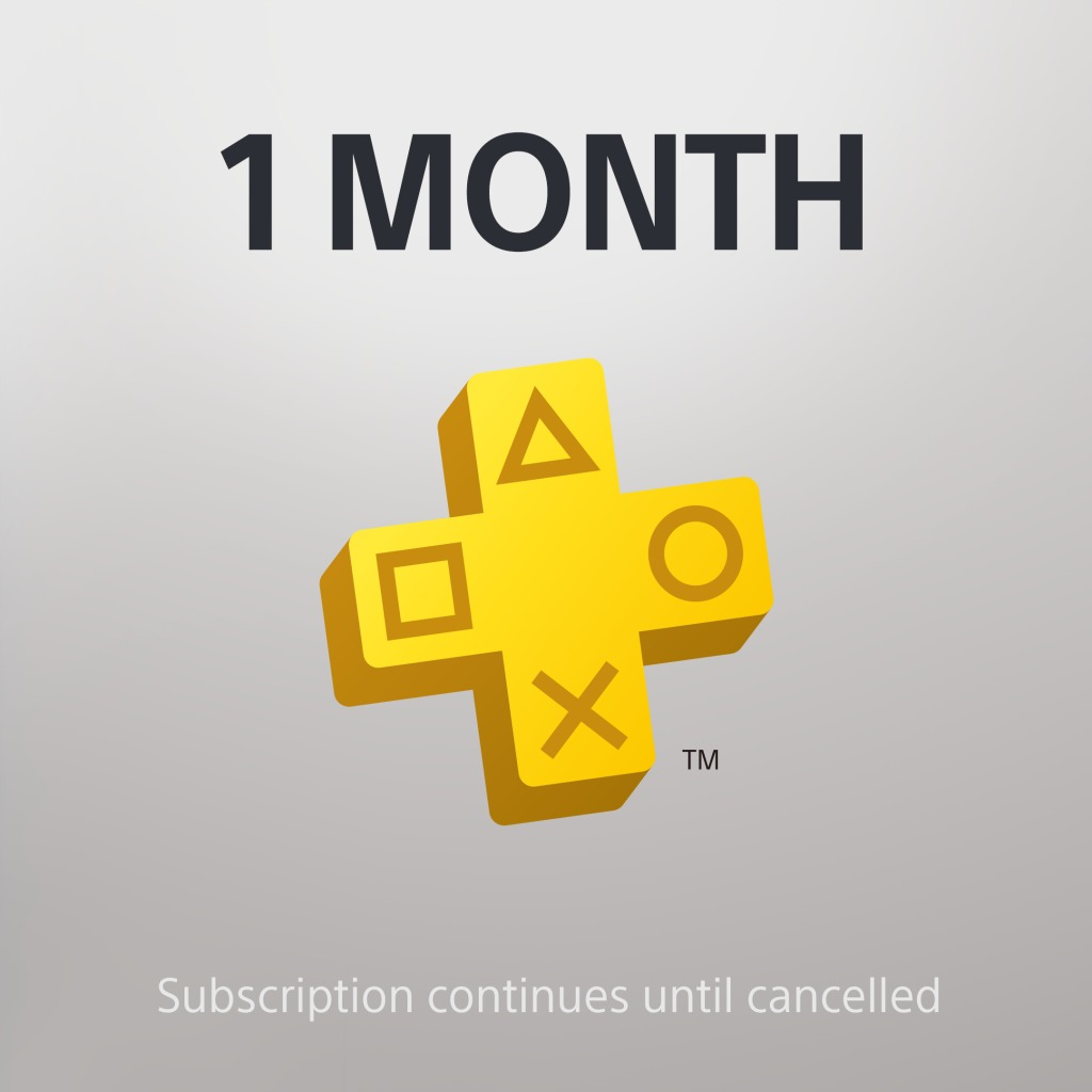 PS Plus: 1 Month Membership