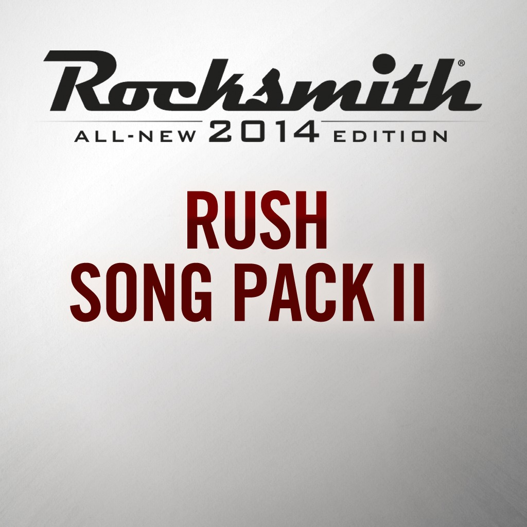 Rocksmith® 2014 - Rush Song Pack II