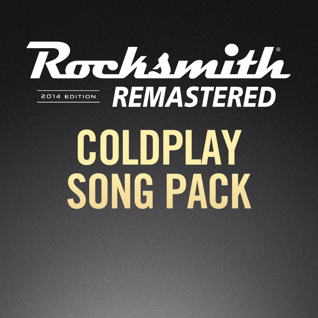 Rocksmith® 2014 - Coldplay Song Pack