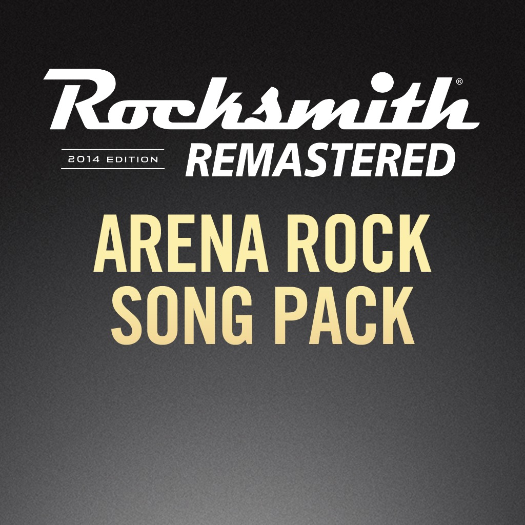 Rocksmith® 2014 - Arena Rock Song Pack
