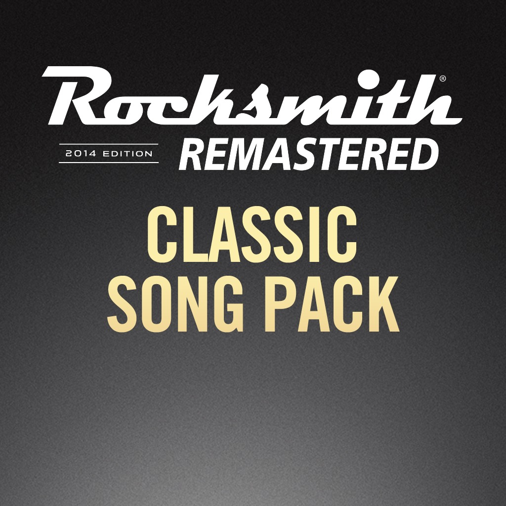 Rocksmith® 2014 - Classic Song Pack