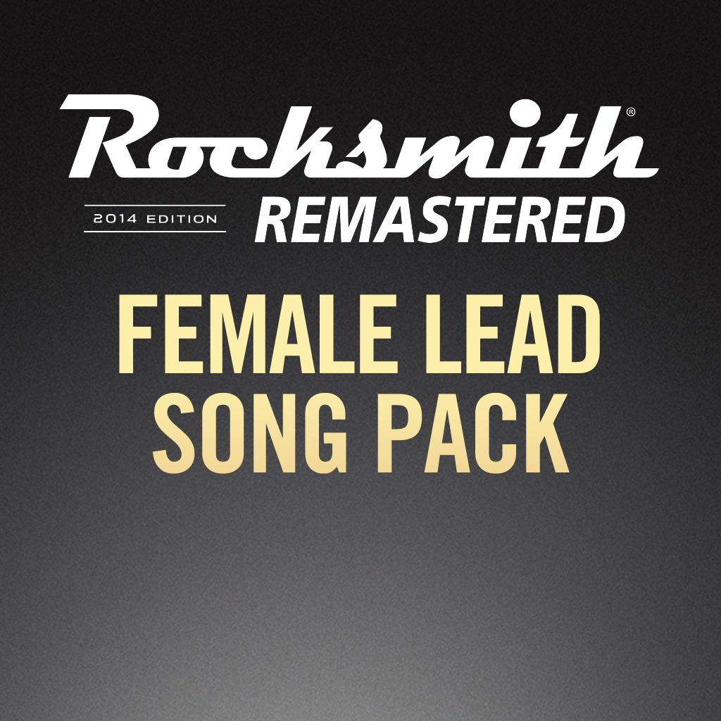 Rocksmith® 2014 - Female Lead Song Pack