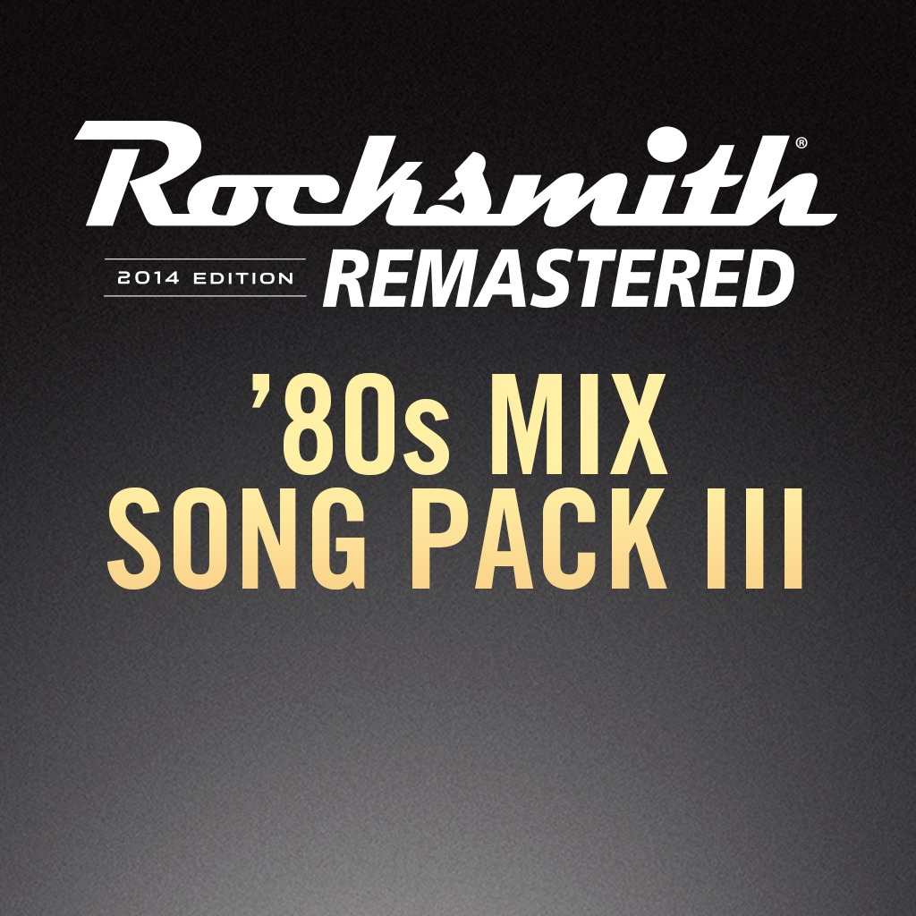 Rocksmith® 2014 - 80s Mix Song Pack III