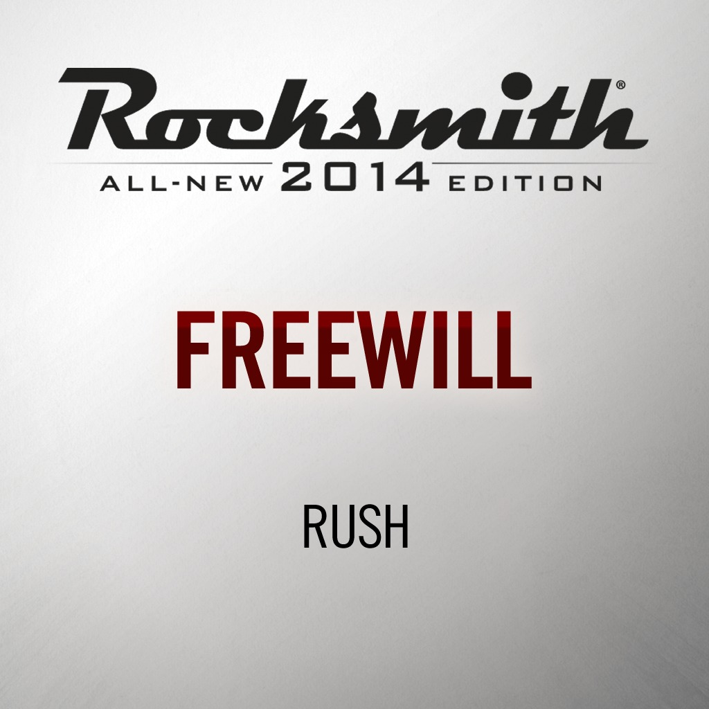 Rocksmith® 2014 - Rush - Freewill