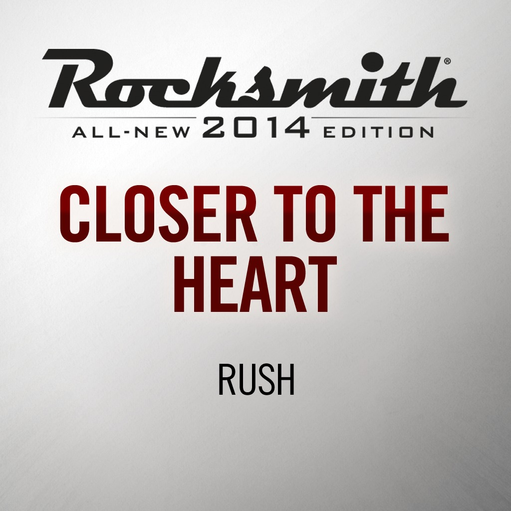 Rocksmith® 2014 - Rush - Closer to the Heart
