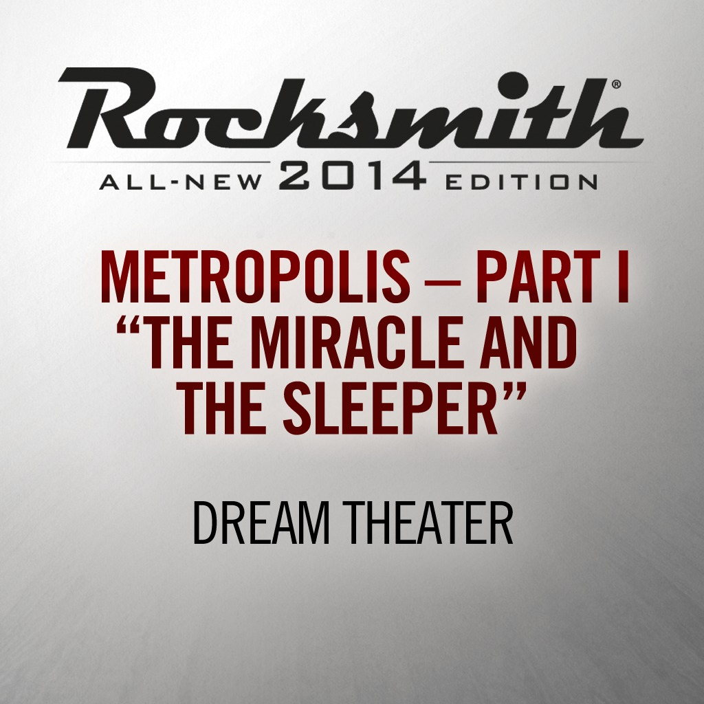 Dream Theater - Metropolis Part I: The Miracle and the Sleeper
