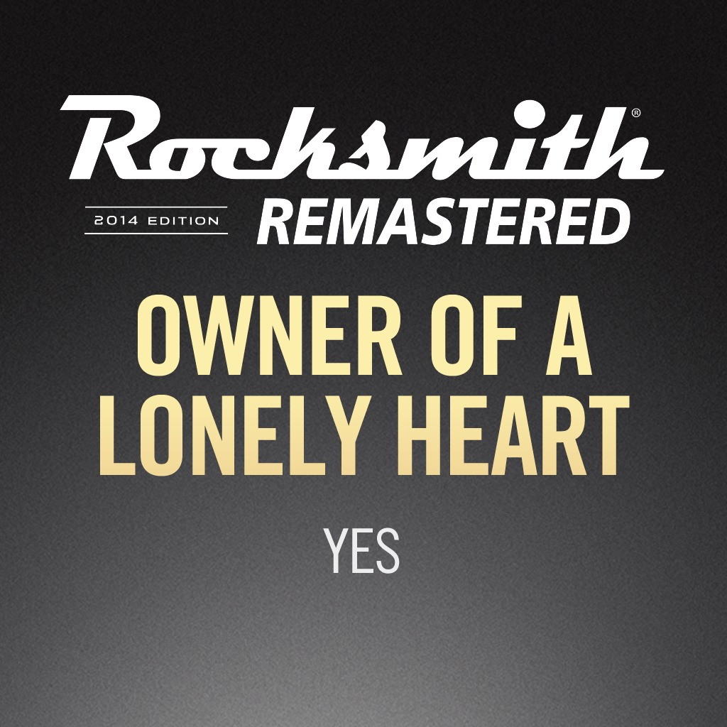 Rocksmith® 2014 - Yes - Owner of a Lonely Heart