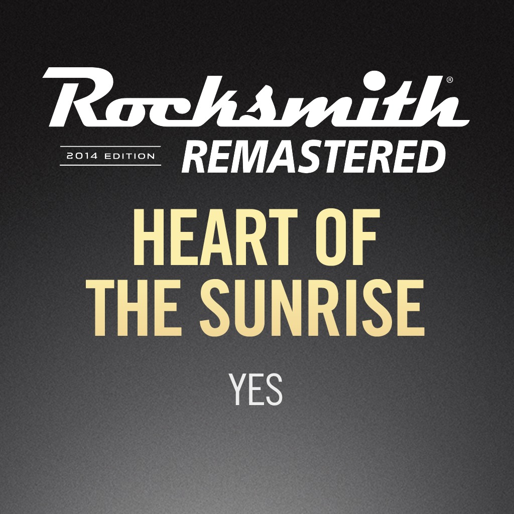 Rocksmith® 2014 - Yes - Heart of the Sunrise