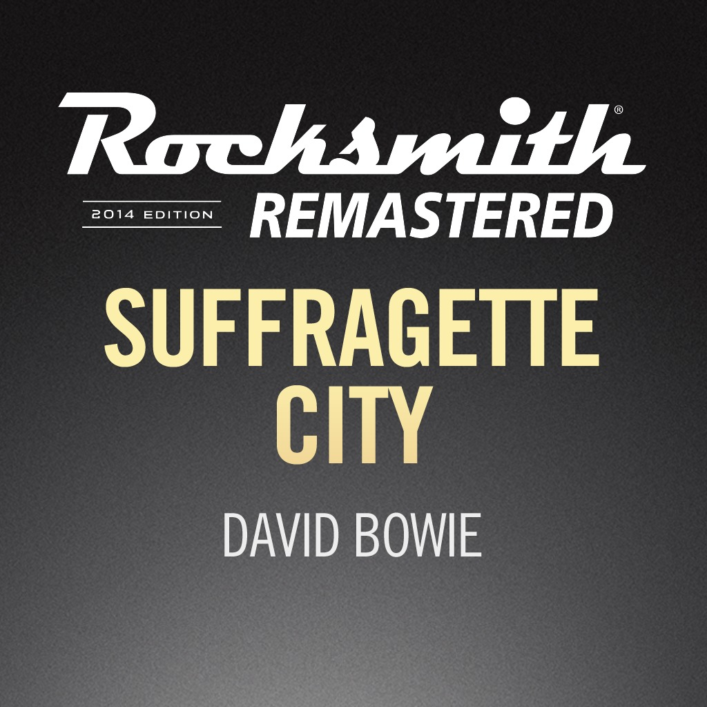 Rocksmith® 2014 - David Bowie - Suffragette City
