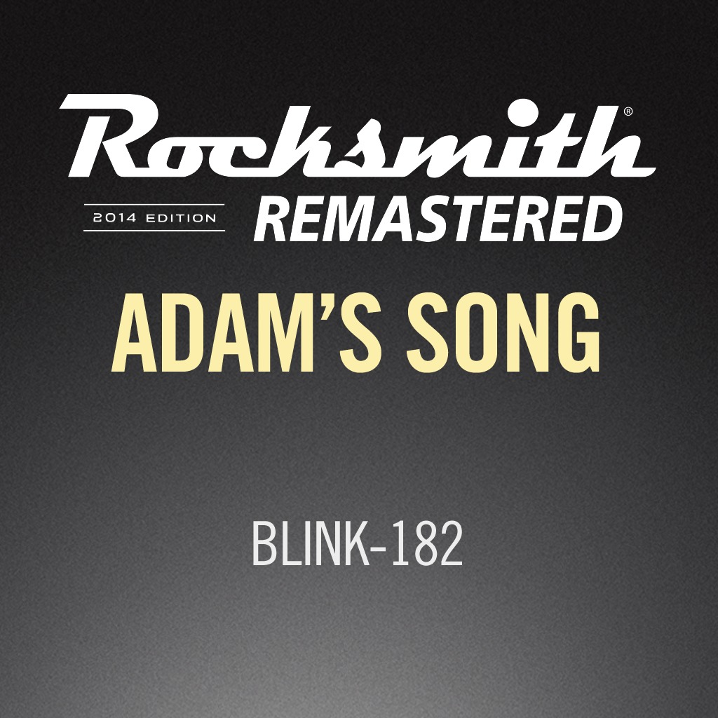 Rocksmith® 2014 - blink-182 - Adam's Song