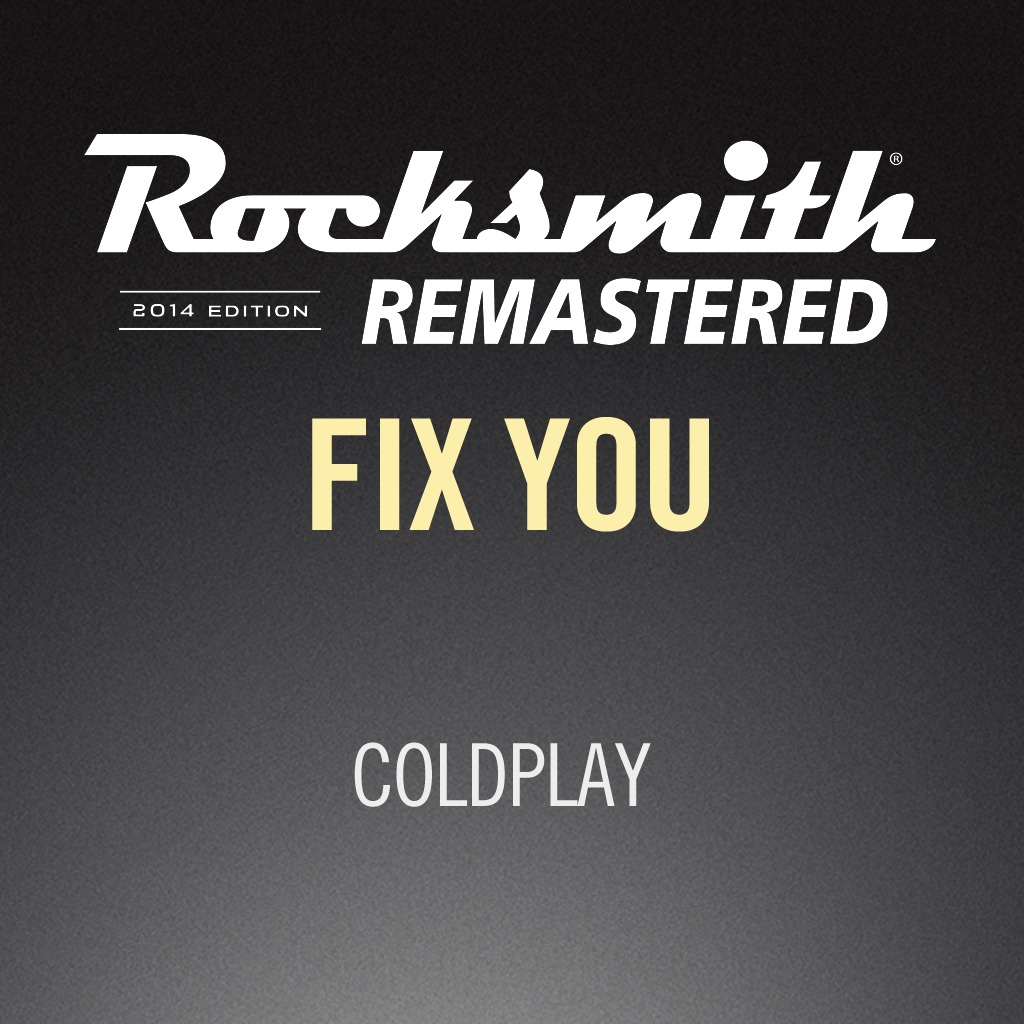 Rocksmith® 2014 - Coldplay - Fix You