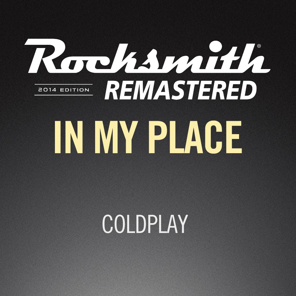 Rocksmith® 2014 - Coldplay - In My Place