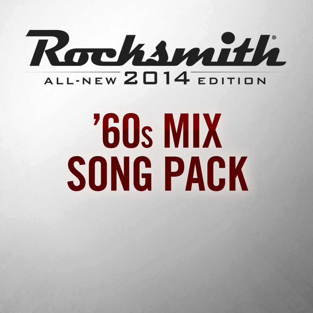 Rocksmith® 2014 - 60s Mix Song Pack