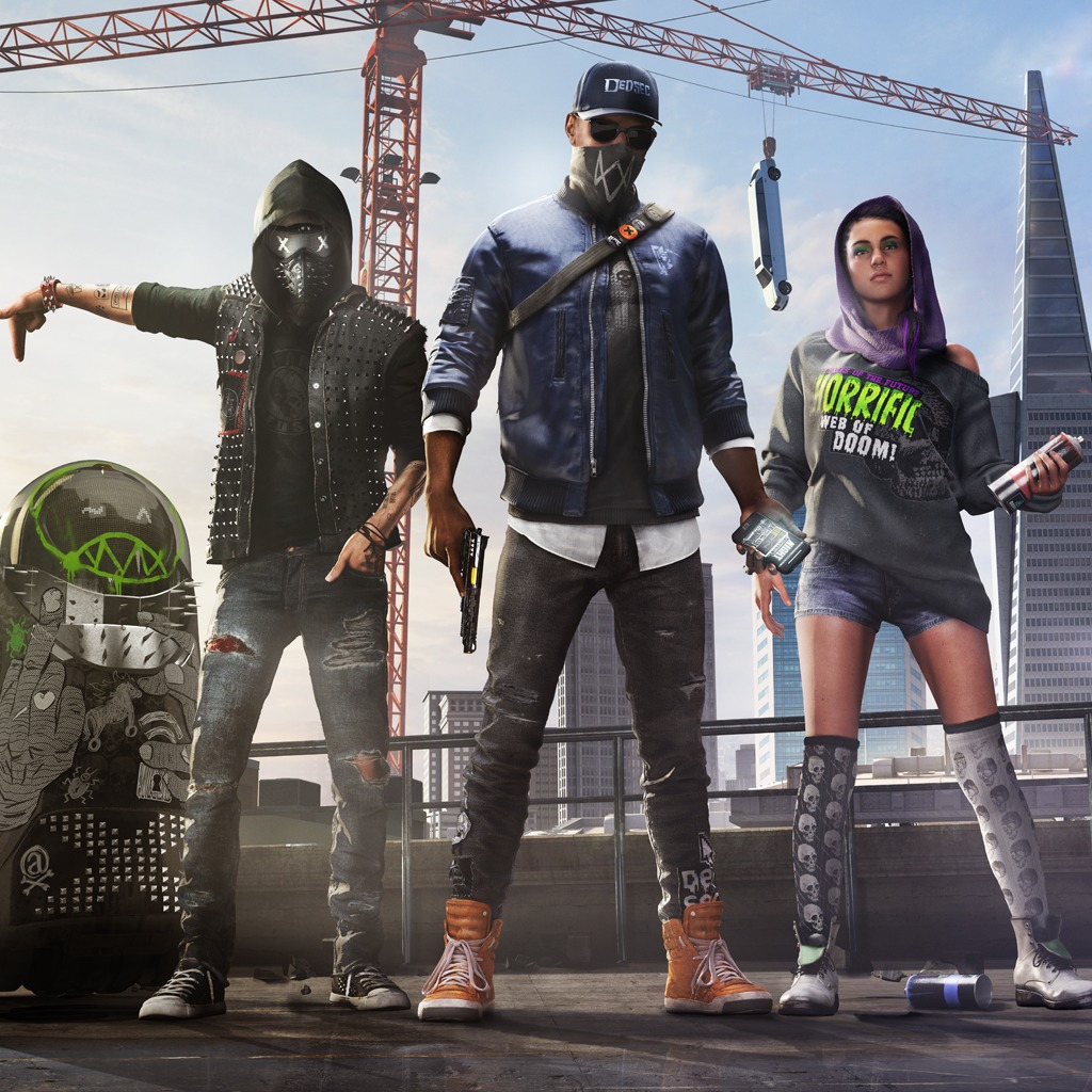 Watch dogs 2 family avatar on ps4 official playstation 174 store us