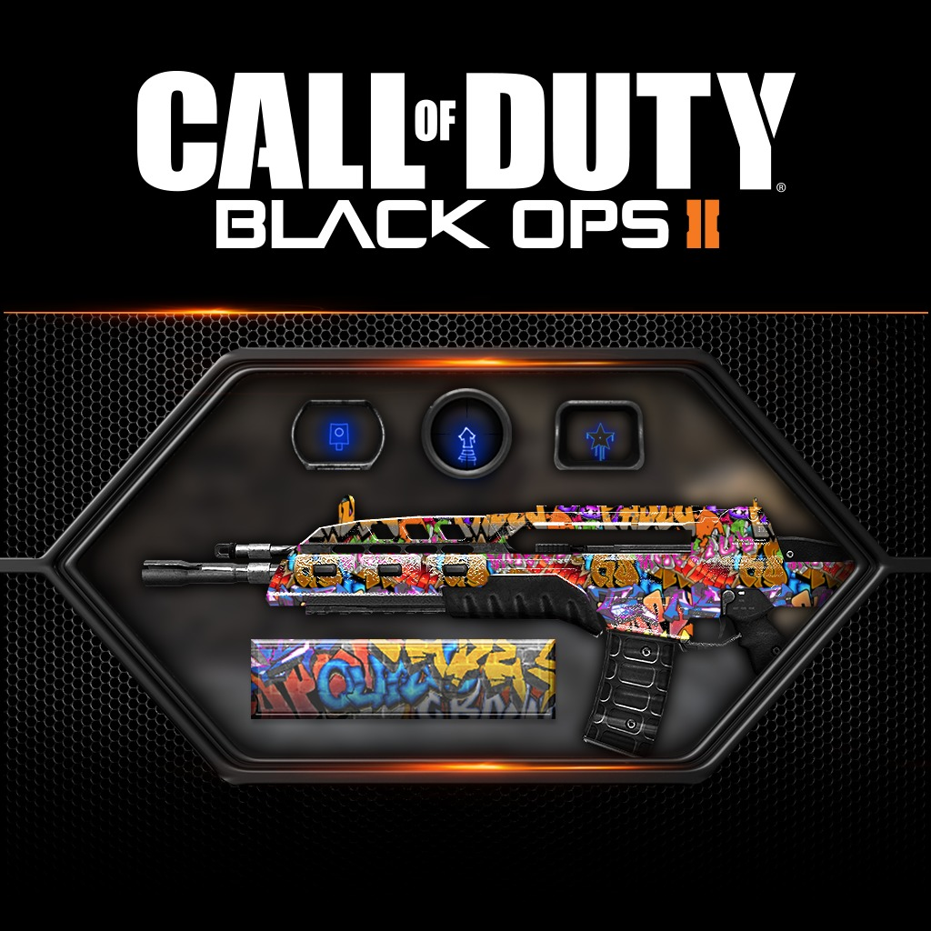 Call of Duty®: Black Ops II - Graffiti Pack