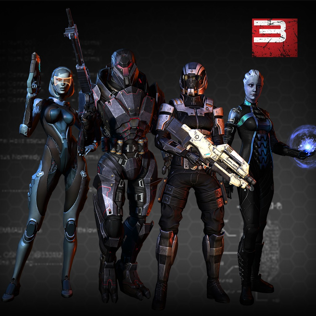 Mass Effect™ 3: Alternate Appearance Pack 1