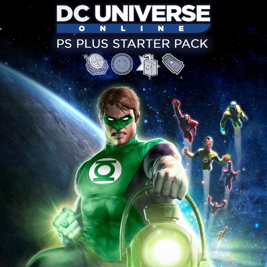 DC Universe Online PlayStation®Plus Starter Pack