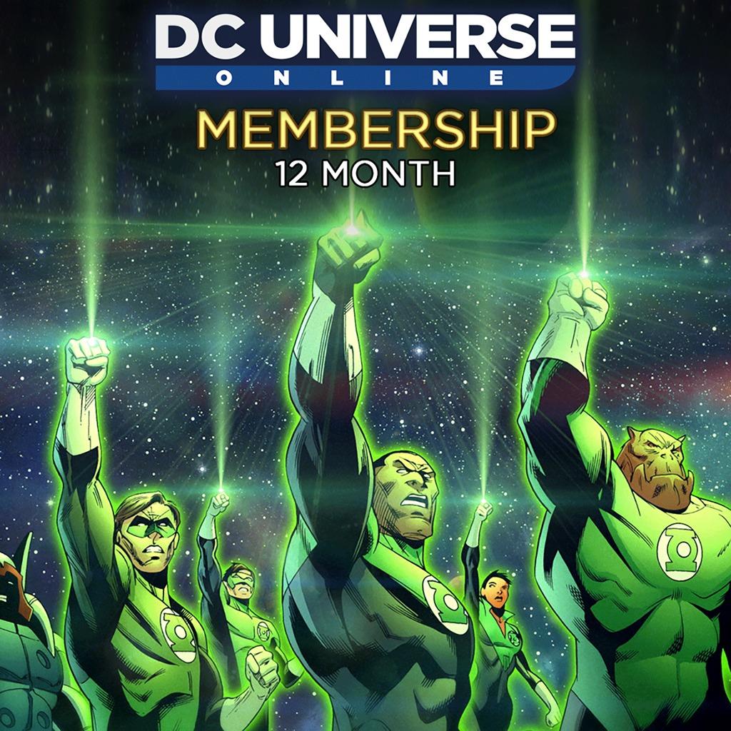 DC Universe™ Online 12-Month Membership