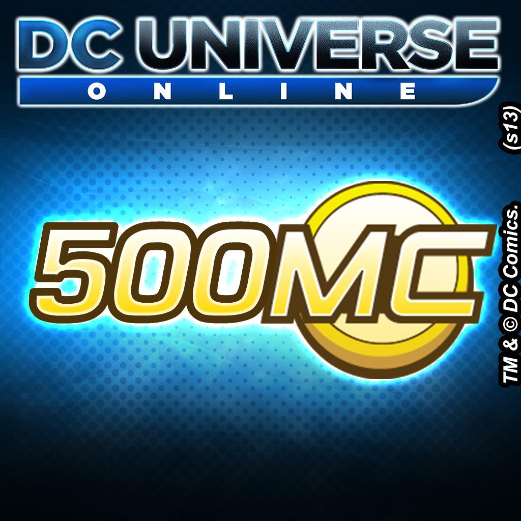 DC Universe™ Online 500 Marketplace Cash