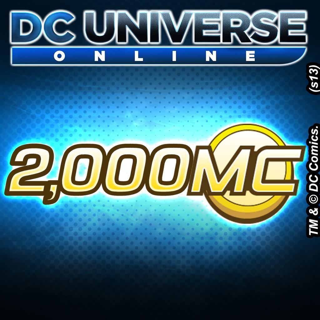 DC Universe™ Online 2000 Marketplace Cash