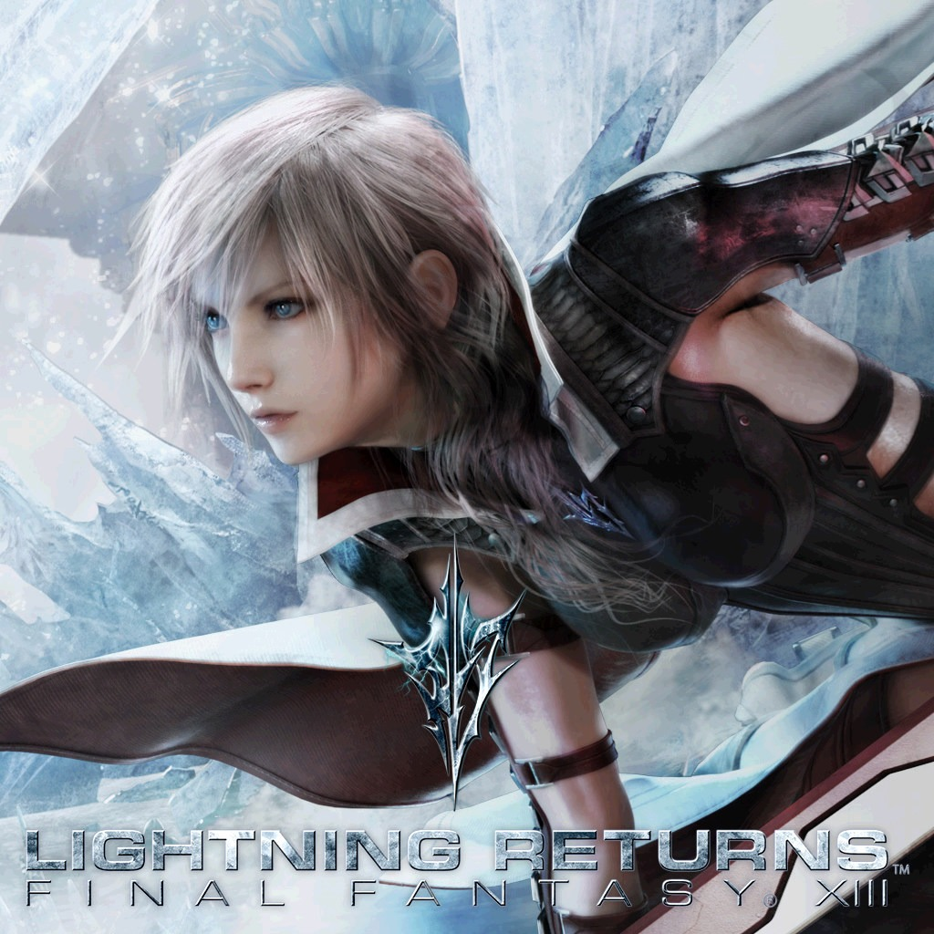 LIGHTNING RETURNS: FINAL FANTASY XIII Key Art Custom Theme
