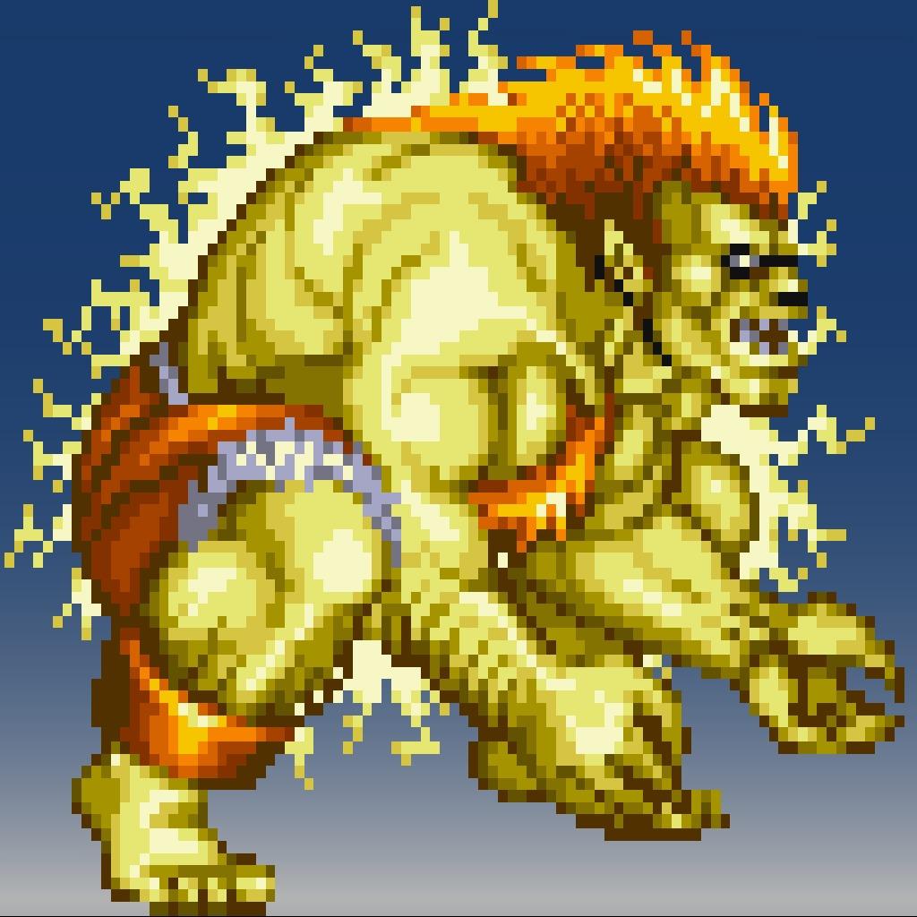 Street Fighter® IV 16bit Blanka Avatar