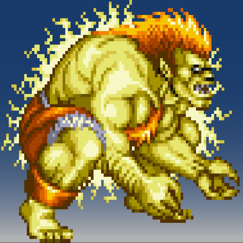 Street Fighter® IV 16bit Blanka Avatar